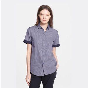 Current/Elliott NWT Short Sleeve Button Down Shirt